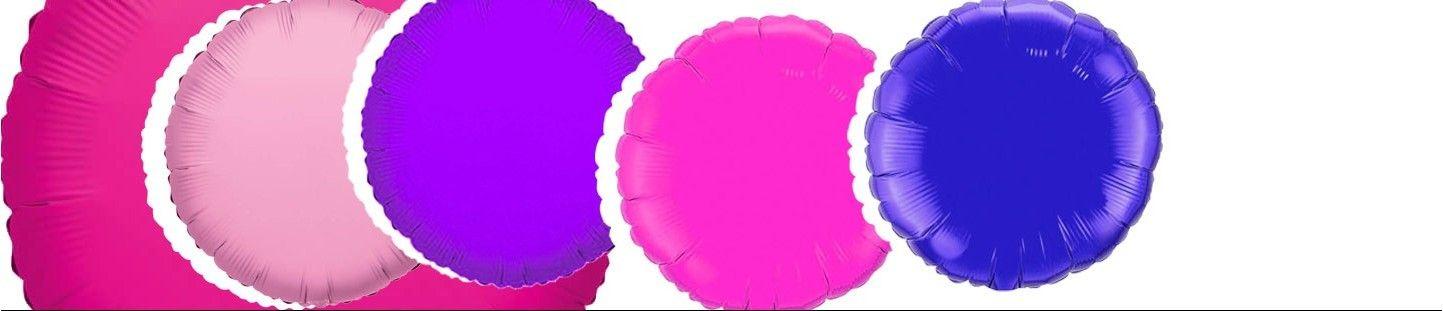 Globos Redondos 45cm Foil