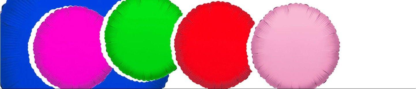 Globos de Helio Redondos 78cm para Decoración de Cumpleaños y Fiestas