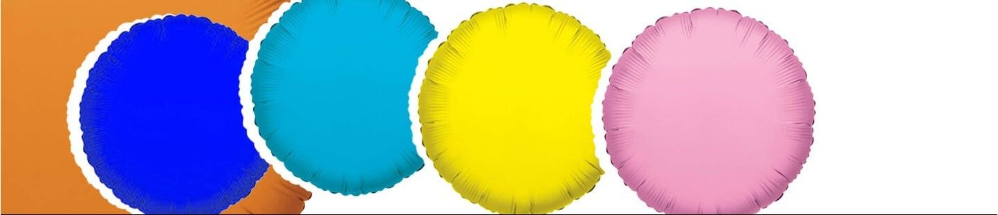 Globos Redondos 91cm Foil