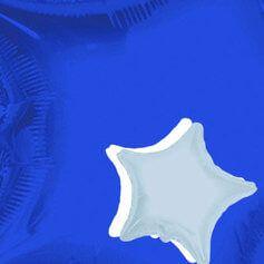 Globos Estrellas 10cm Foil