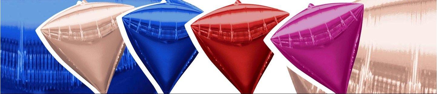 Globos Diamante 3D Foil