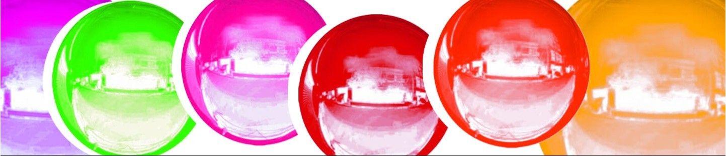 Globos Esfericos 18cm Foil