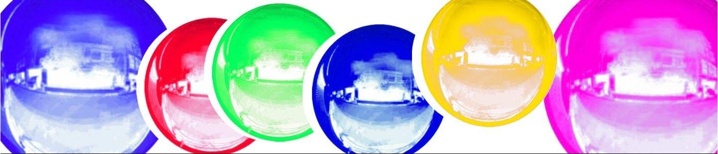 Globos de Helio Esfericos 25cm para Decoración de Cumpleaños y Fiestas
