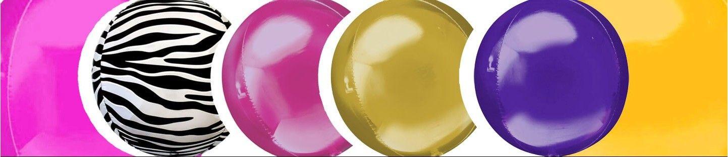 Globos Esfericos 40cm Foil
