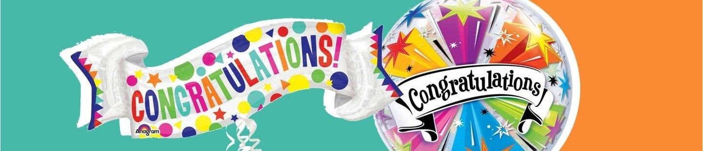Globos de Felicitaciones. Regala Globos y Felicítalo en su Cumpleaños