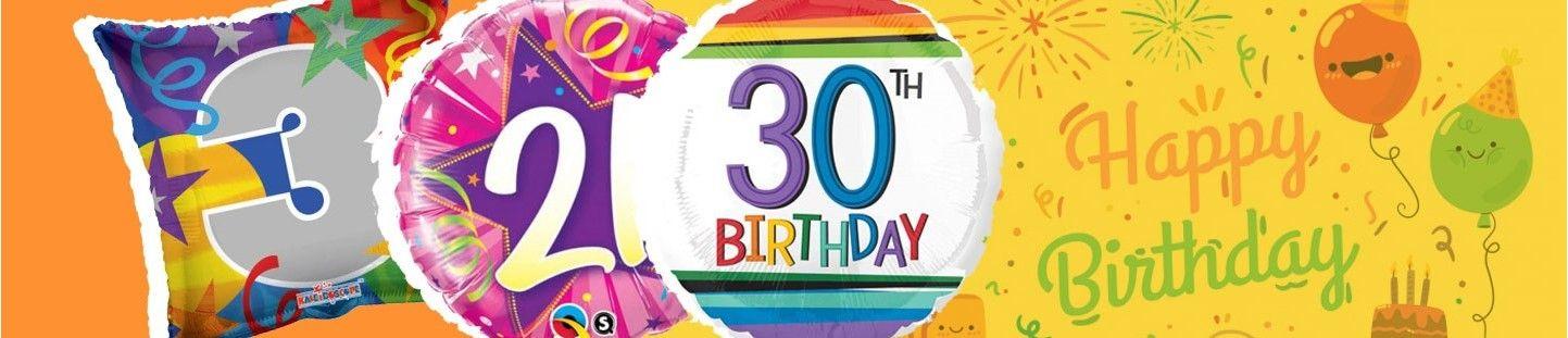 Globos Cumpleaños Numeros