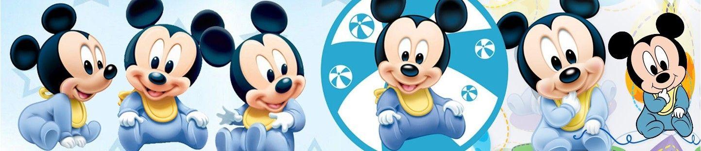 Globos Baby Mickey. Decoracion de Cumpleaños Baby Mickey