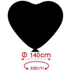 Globos Personalizados Corazon 140cm