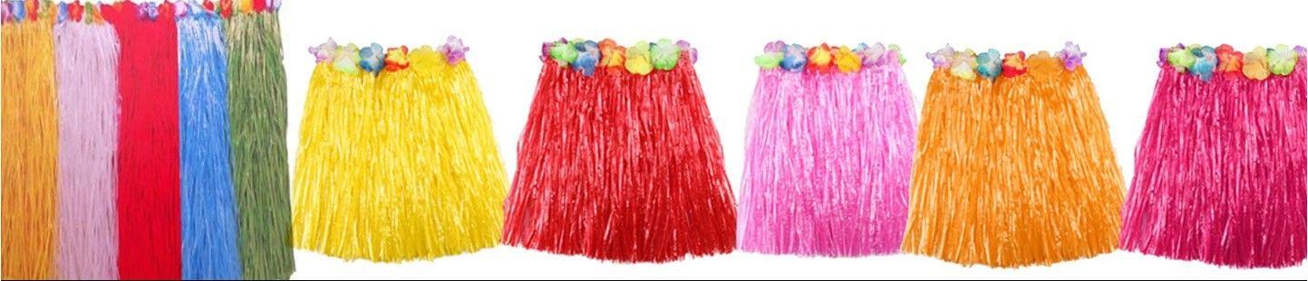 Faldas Hawaianas para Cumpleaños y Fiestas Hawaianas