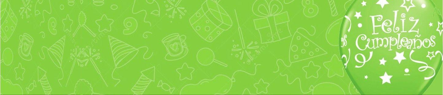 Decoración Fiestas y Cumpleaños Verde