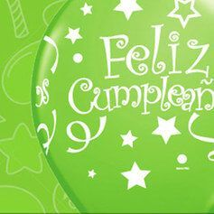 Fiesta Cumpleaños Verde