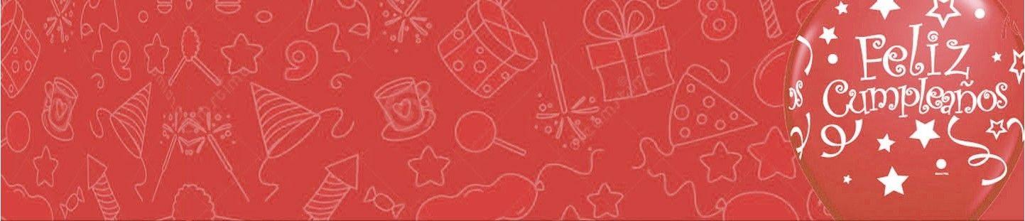 Decoración Fiestas y Cumpleaños Rojo