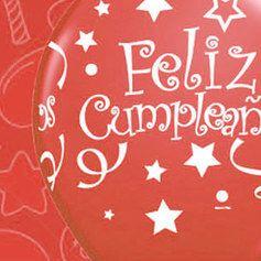 Fiesta Cumpleaños Roja