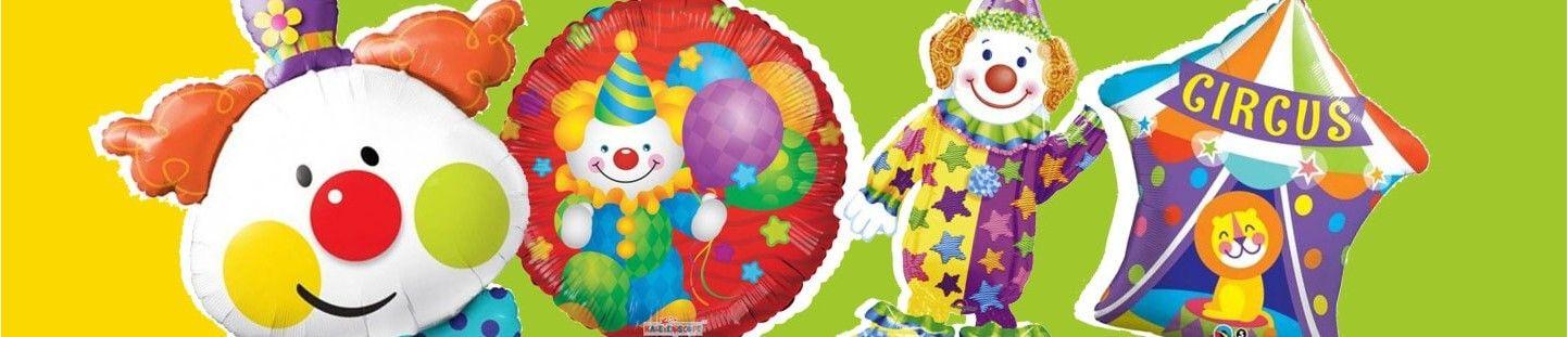 Globos Circo para Decoracion de Eventos, Fiestas y Cumpleaños