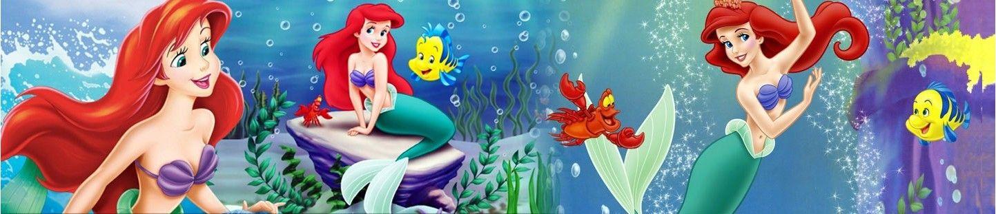 Globos Ariel La Sirenita. Decoracion de Cumpleaños Ariel La Sirenita