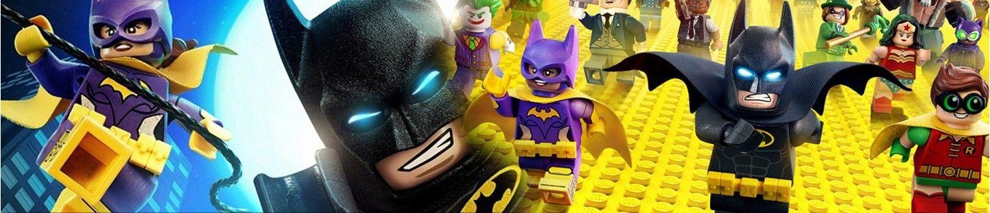 Globos Lego Batman. Decoracion de Cumpleaños Lego Batman