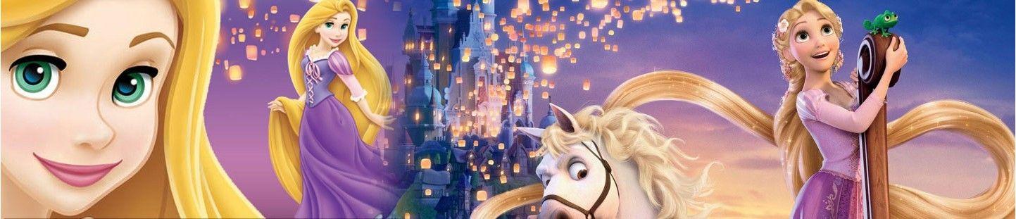 Globos Rapunzel. Decoracion de Cumpleaños Rapunzel