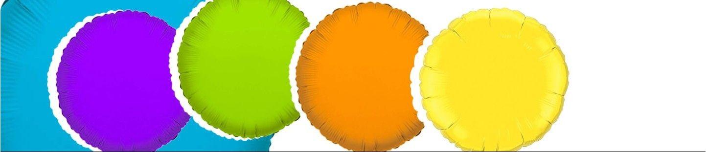 Globos de Helio Redondos 53cm de Cumpleaños y Fiestas