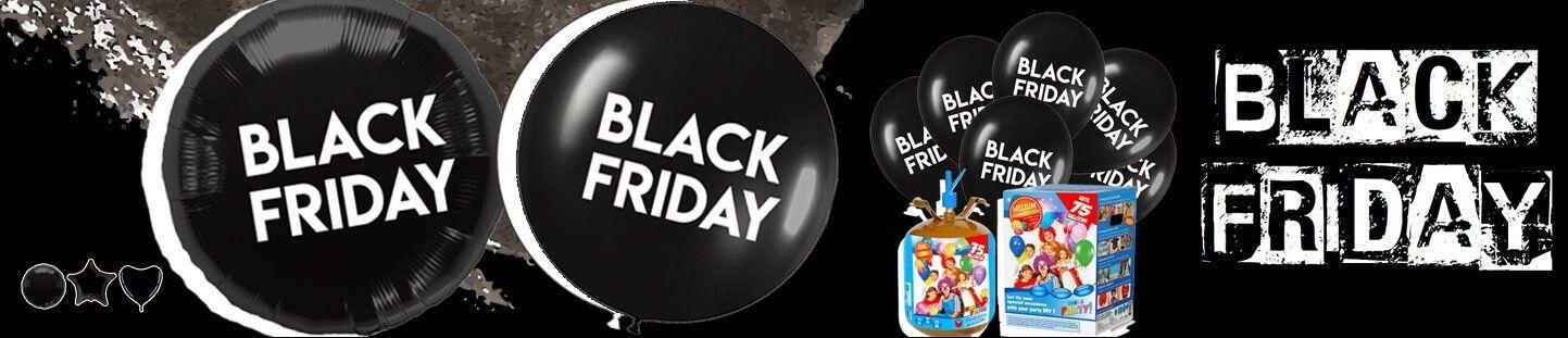 Globos para Black Friday. Decora con Globos en Black Friday
