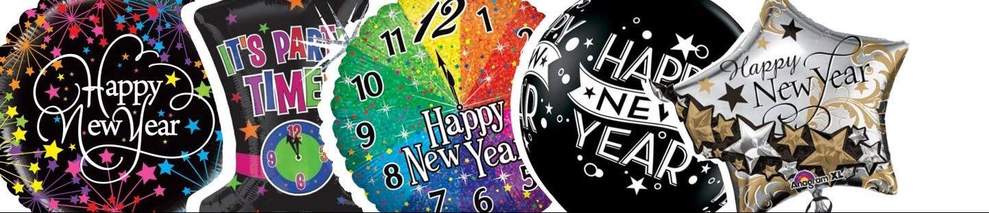 Globos para Año Nuevo. Ideas Originales para Decorarcion de Año Nuevo