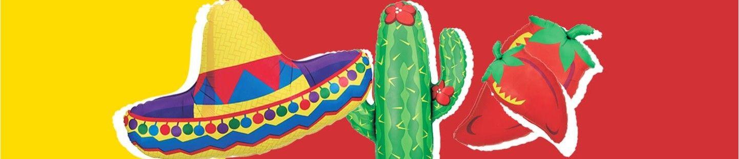 Globos Mexico para Decoracion Fiestas y Cumpleaños Temáticos