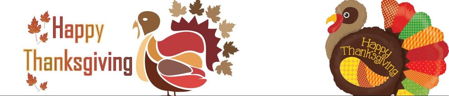 Globos Dia de Acción de Gracias. Ideas para Decor en Acción de Gracias