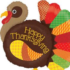 Globos Dia de Accion de Gracias
