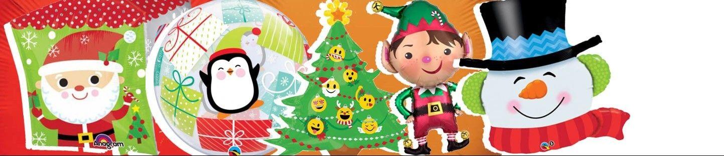 Globos de Helio para Navidad y Decoraciones Navideñas