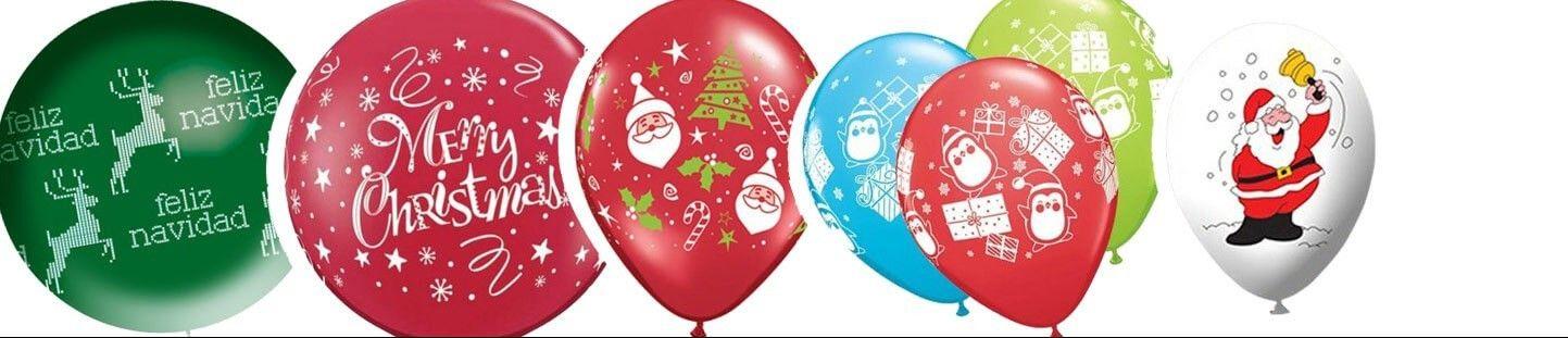 Globos Latex de Navidad. Ideas Originales para Decoracion de Navidad
