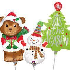 Globos Navidad Mini