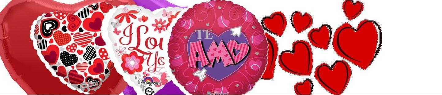 Globos para el Dia de San Valentin y Enamorados