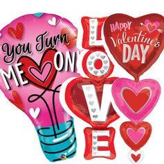 Globos San Valentin Formas