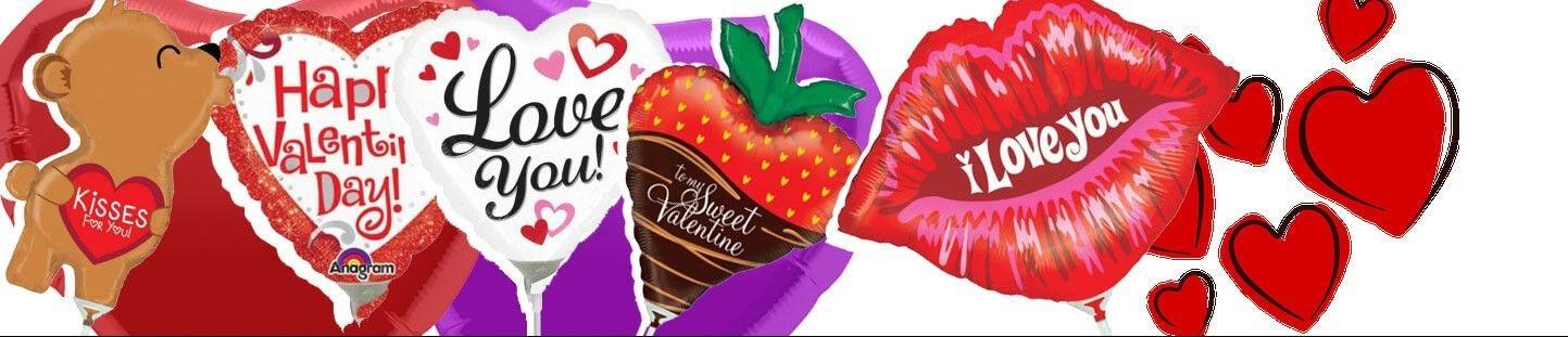 Globos Mini para San Valentin y Enamorados