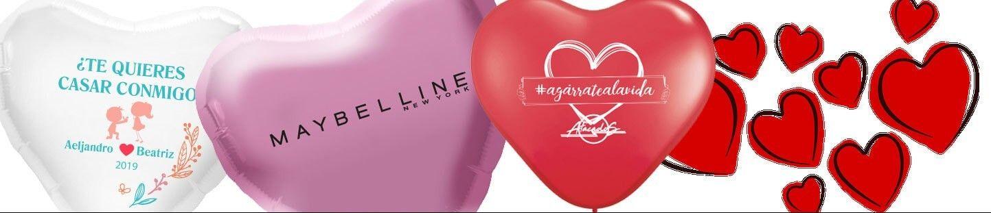 Globos Personalizados para San Valentin
