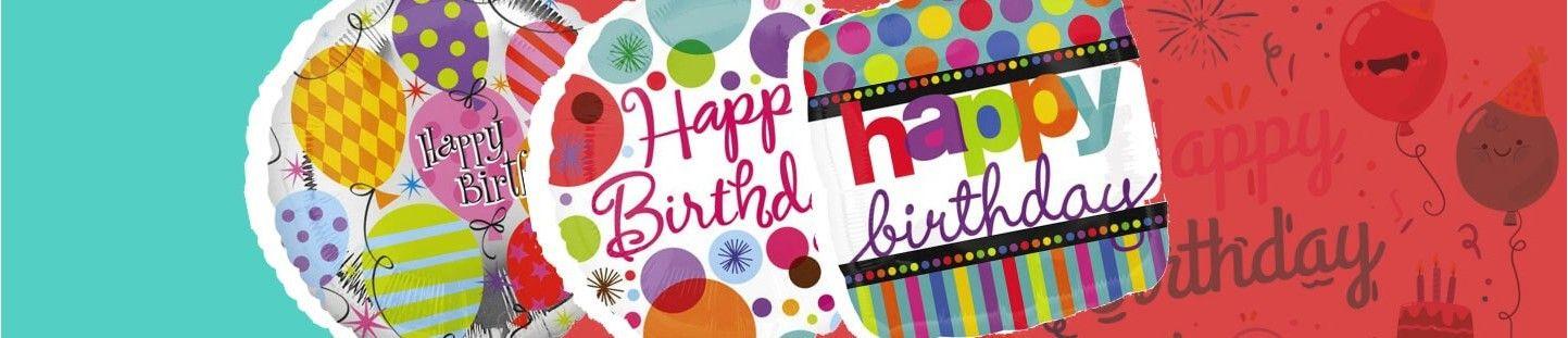 Globos de Helio para Cumpleaños. Ideas para Decoracioón de Fiestas