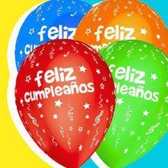 Globos Cumpleaños Latex