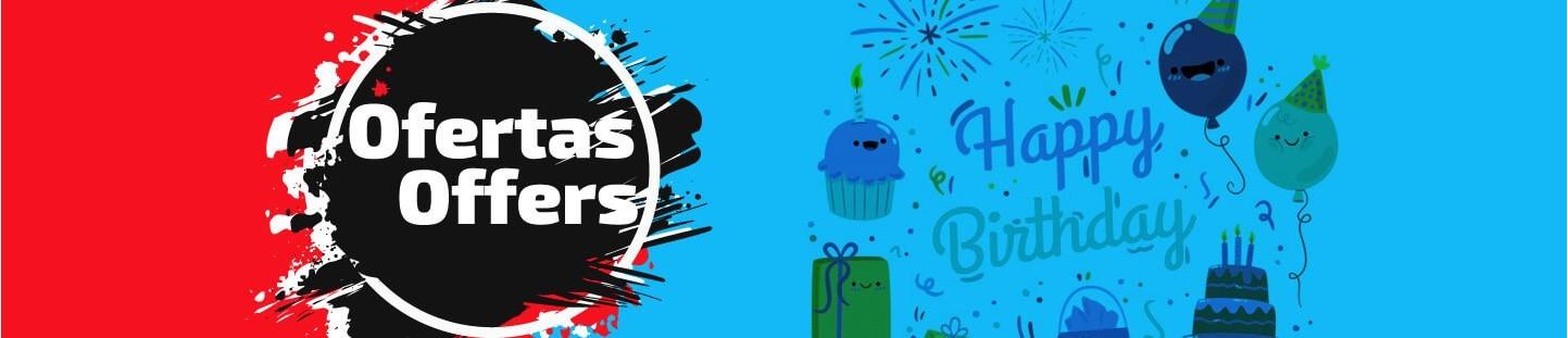Globos de Cumpleaños Baratos, en Oferta y con Decuento al Mejor Precio
