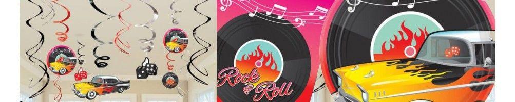 Ideas para Decoración de Fiestas y Cumpleaños de Años 50 Rock and Roll