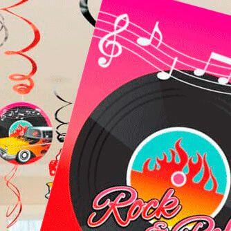 Fiesta Cumpleaños Años 50 Rock and Roll