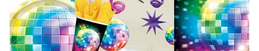 Ideas para Decoración de Fiestas y Cumpleaños de Años 70 Disco