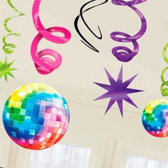 Fiesta Cumpleaños Años 70 Disco