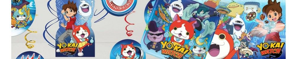 Ideas para Decoración de Fiestas y Cumpleaños de Yo-Kai Watch
