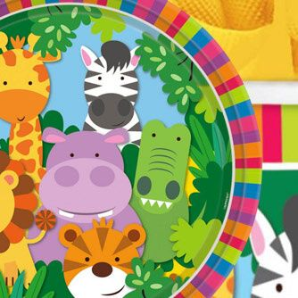 Fiesta Cumpleaños Animales de la Jungla