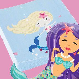 Fiesta Cumpleaños Be a Mermaid