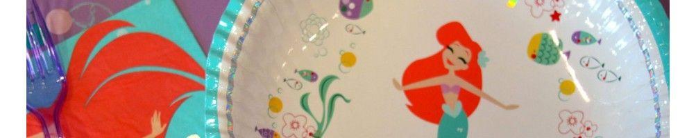 Ideas para Decoración de Fiestas y Cumpleaños de Ariel Under The Sea