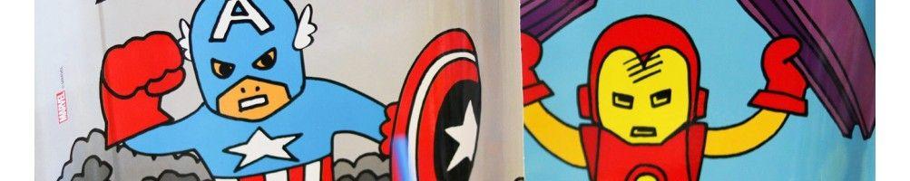 Ideas para Decoración de Fiestas y Cumpleaños de Marvels Pop Comic