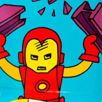 Fiesta Cumpleaños Marvels Pop Comic