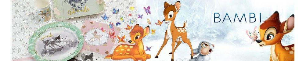 Ideas para Decoración de Fiestas y Cumpleaños de Bambi
