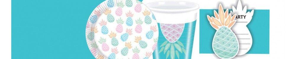 Ideas para Decoración de Fiestas y Cumpleaños de Piña Pineapples