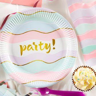 Fiesta Cumpleaños Elegant Party